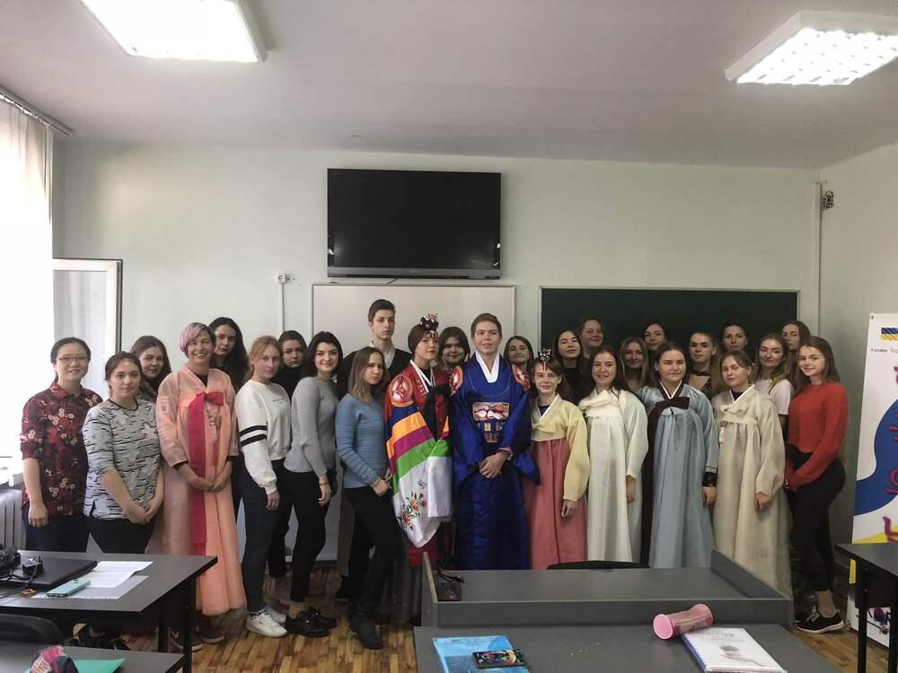 Святкування Дня Кореї у школі корейської мови в Дніпрі
