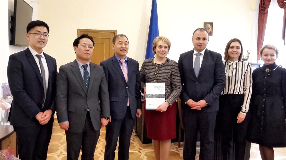 Зустріч з пані Лілією Гриневич, міністром освіти і науки України