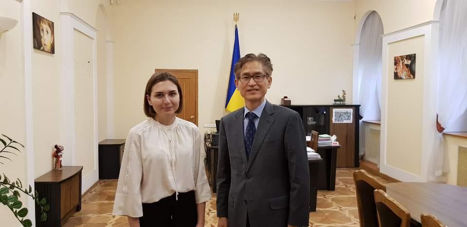 Зустріч з міністром освіти України