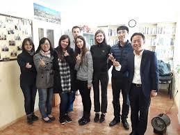 Візит до школи корейської мови