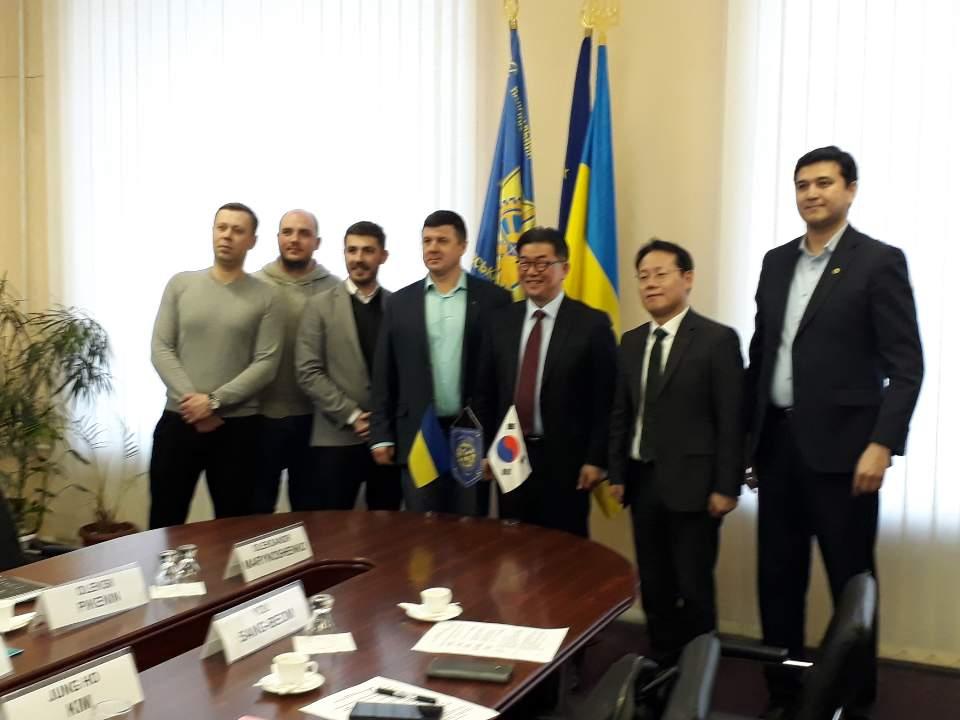 인하대학교 우크라이나 주요대학 교육협력 방문