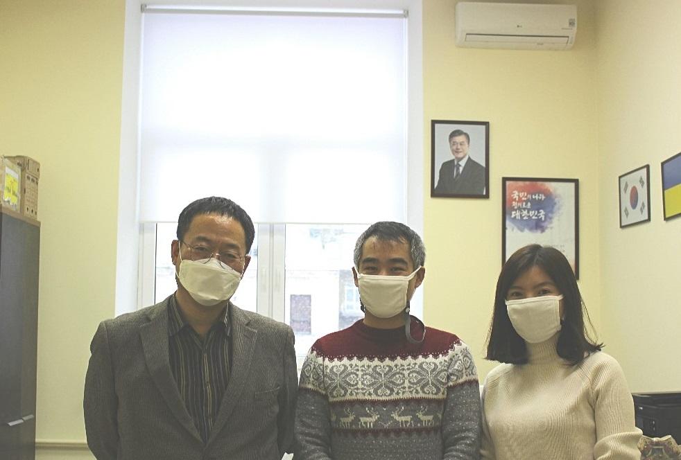 오데사 우신스키국립사범대학교 심현주 교수 한국교육원 방문