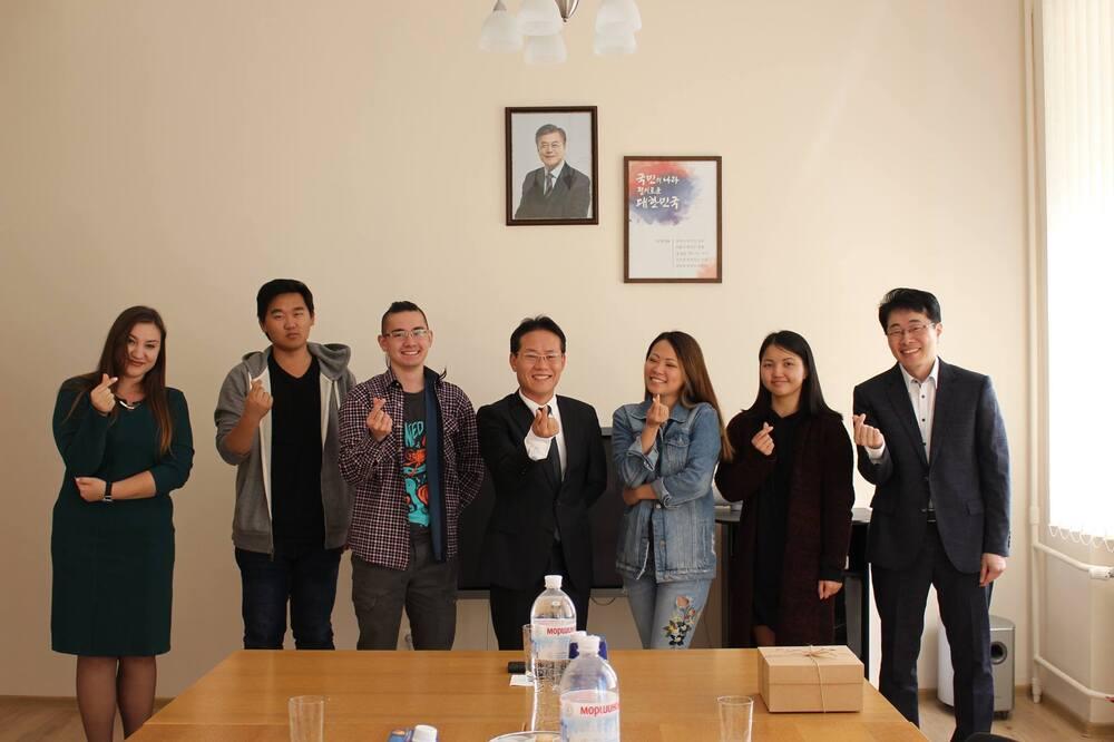 Церемонія вручення стипендій Фонду зарубіжних корейців