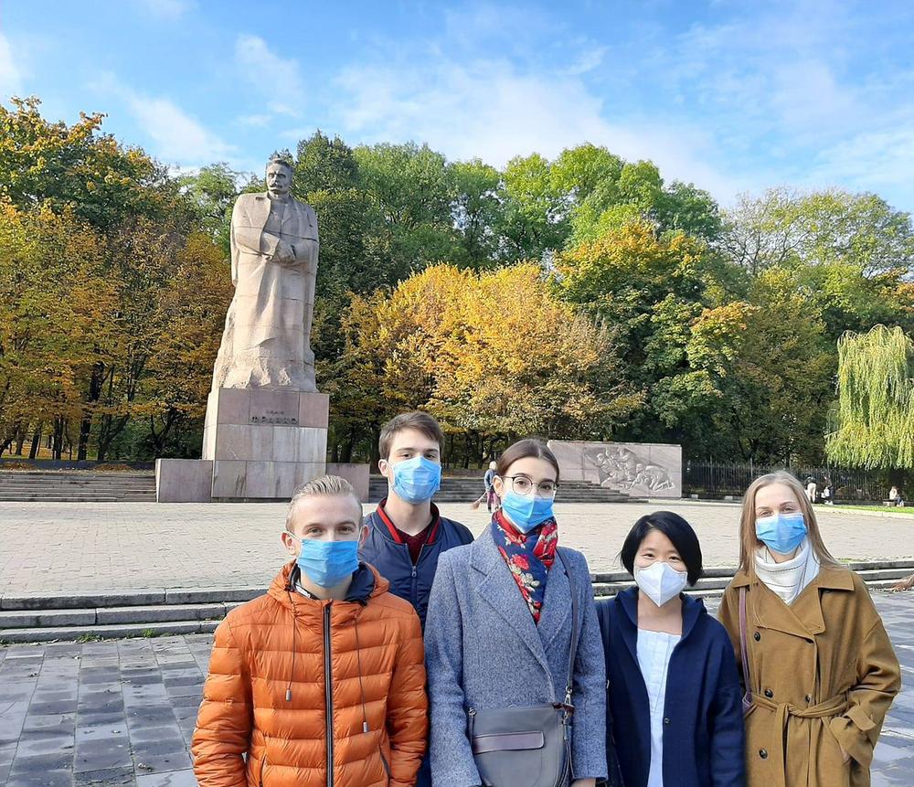 리비우 이반 프랑코 국립대학교에서 제2외국어로 개설된 한국어 강좌