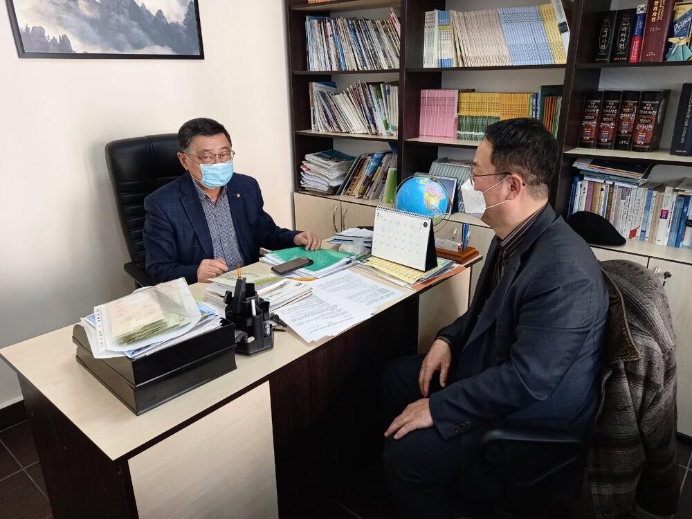 키예프국립외국어대학교 현지 한국어교원 양성과정 협의