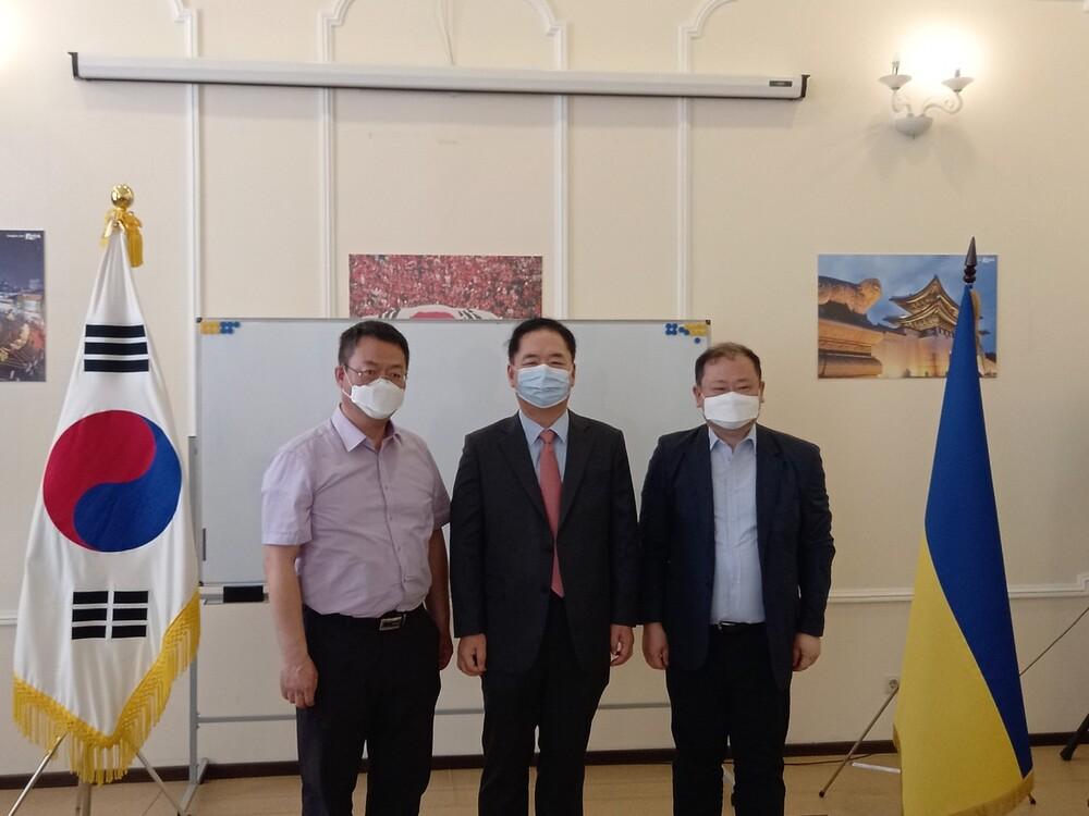 공관장 김형태 대사님 교육원 방문