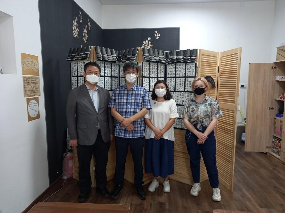 키예프 리더 171학교 한국의날 행사 참여