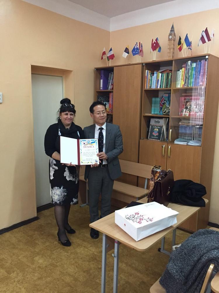 Візит до Одеської спеціалізованої школи № 35 І-ІІІ ступенів з поглибленим вивченням англійської мови