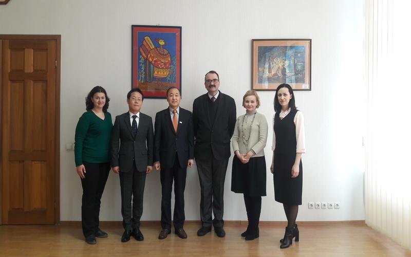 Візит до Міністерства освіти і науки України