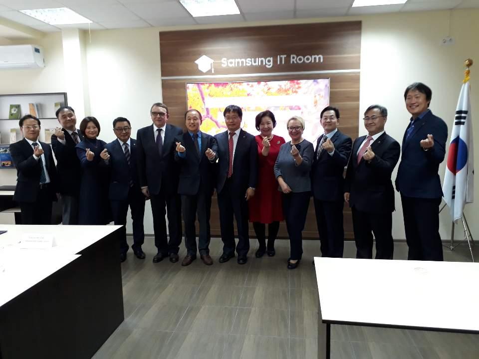 Підписання Меморандуму про взаєморозуміння між чотирма корейськими університетами провінції Чолла-пукто і українськими університетами