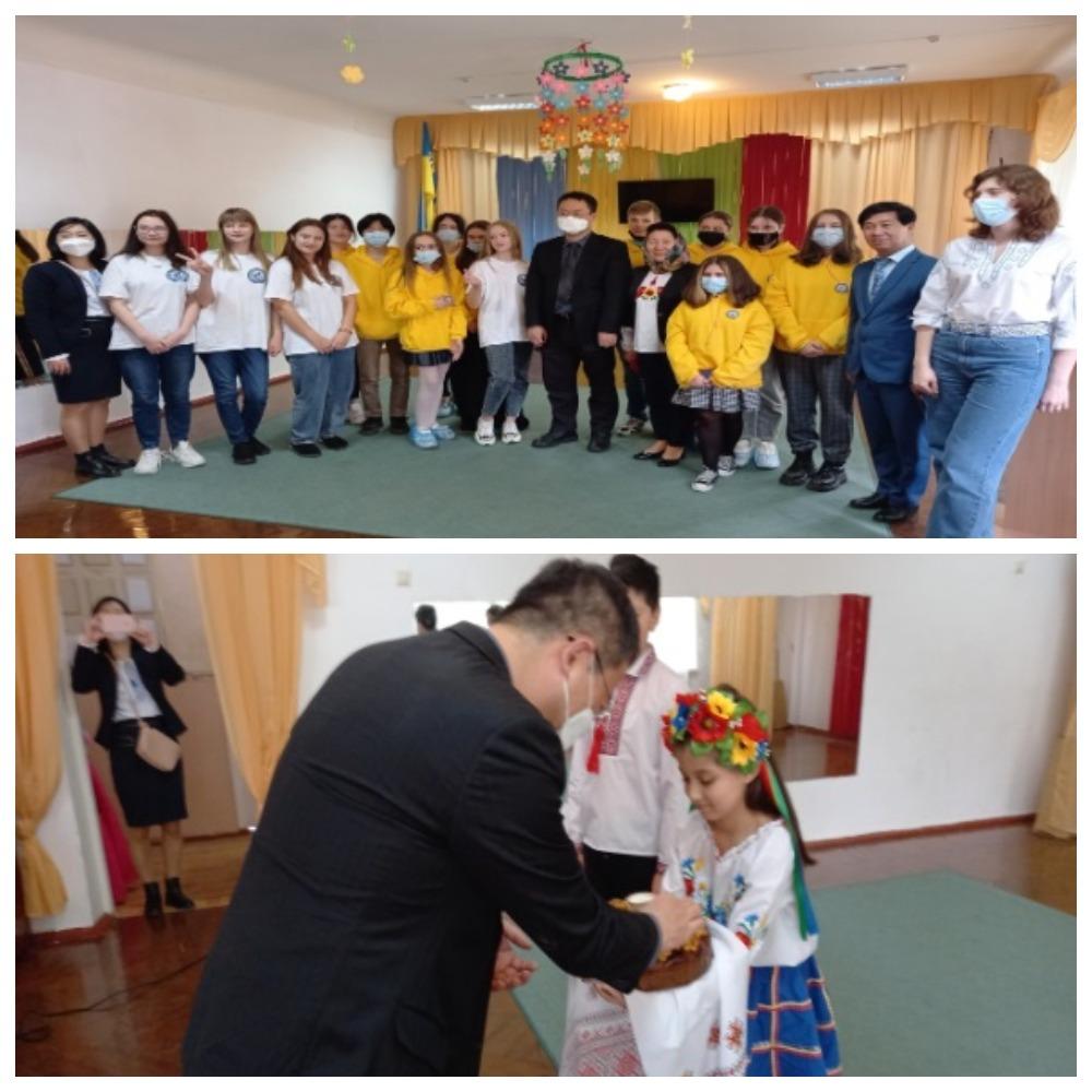 하리코프 정수리학교 방문